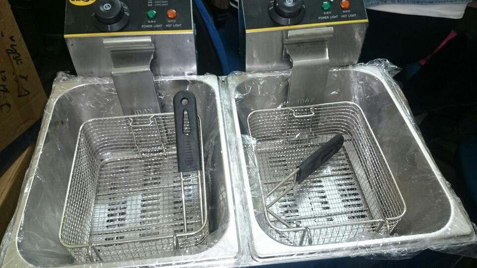 Bếp chiên nhúng đôi JL-82
