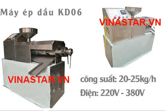 Máy ép dầu thực vật KD06 20-25KG/1H 1