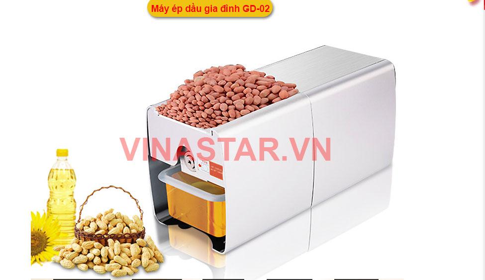 Máy ép dầu gia đình GD-02