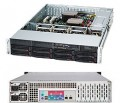 Supermicro USA 2U X9 Server Rack SC825TQ-R700LPB - 1CPU E5-2407 SATA