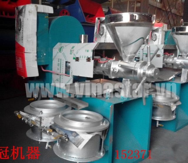 Máy ép dầu công nghiệp 6YL-100 1