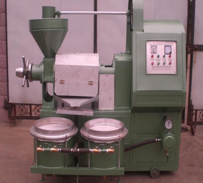 Máy ép dầu công nghiệp có bình lọc 6YL-120A 2