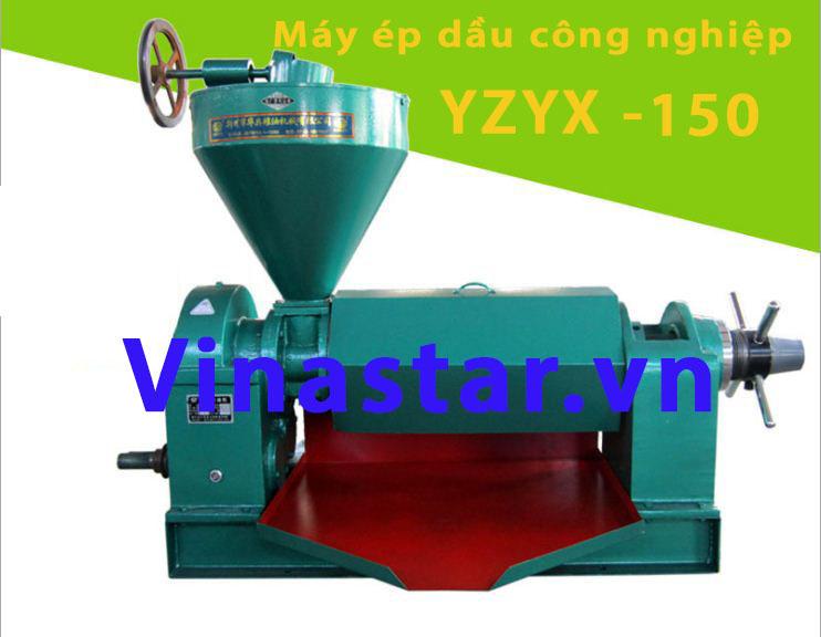 Máy ép dầu lạc công nghiệp YZYX-150