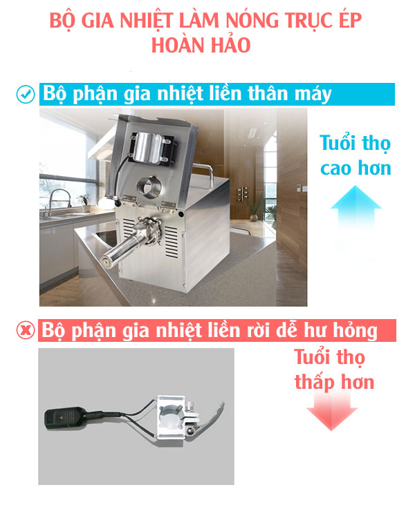 Máy ép dầu thực vật gia đình GD03 3-4KG/1H-1