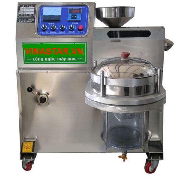 Review về máy ép dầu 1 bầu lọc KD03 20KG/1H